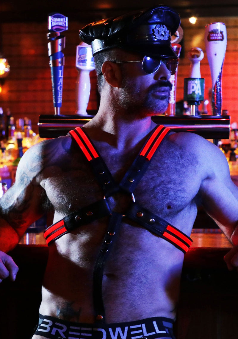 RED GLOW CROSS HARNESS