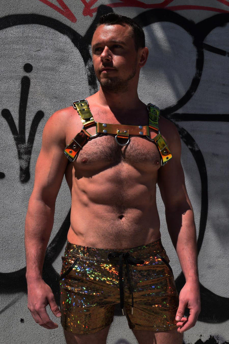 GOLD CHAMELEON CYBER HARNESS