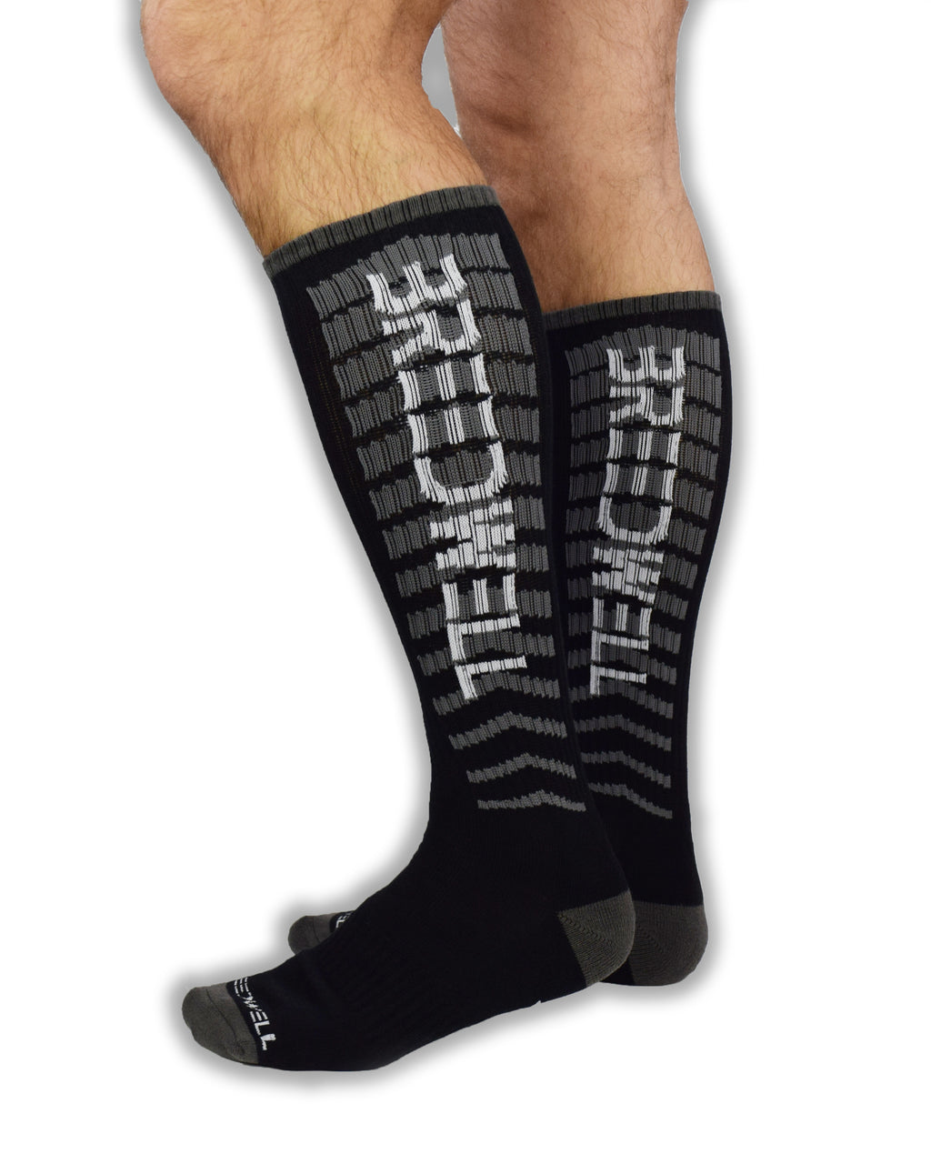 "HAZARD ""F**K"" SOCKS - BLACK"