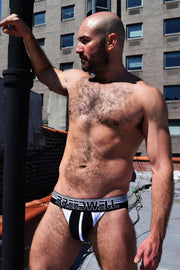 BLACK HORIZON JOCKSTRAP