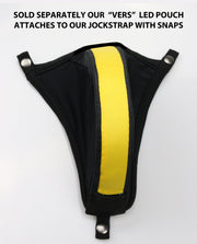 YELLOW STRIPES JOCKSTRAP