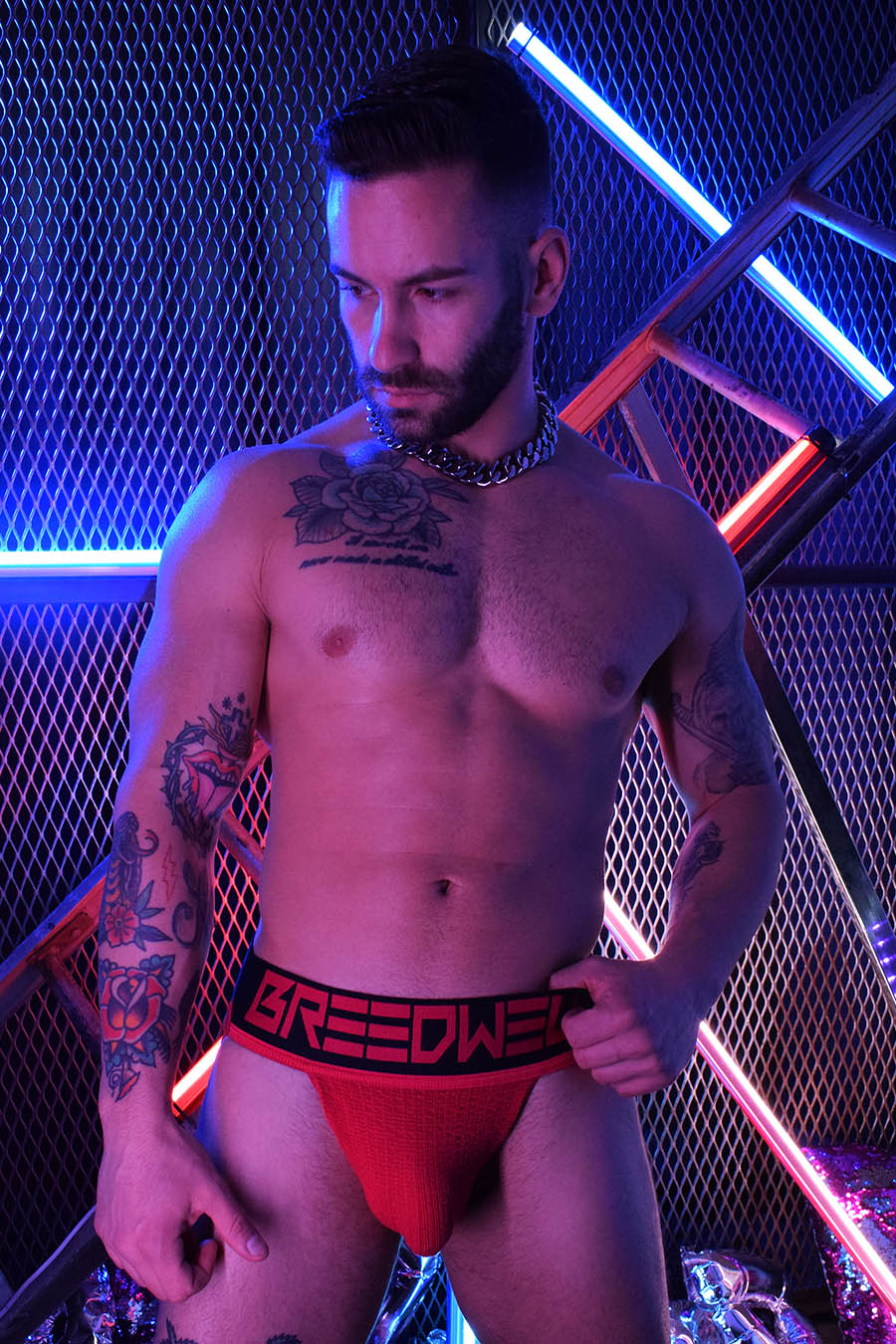 NEWSCHOOL CLASSIC JOCK - RED