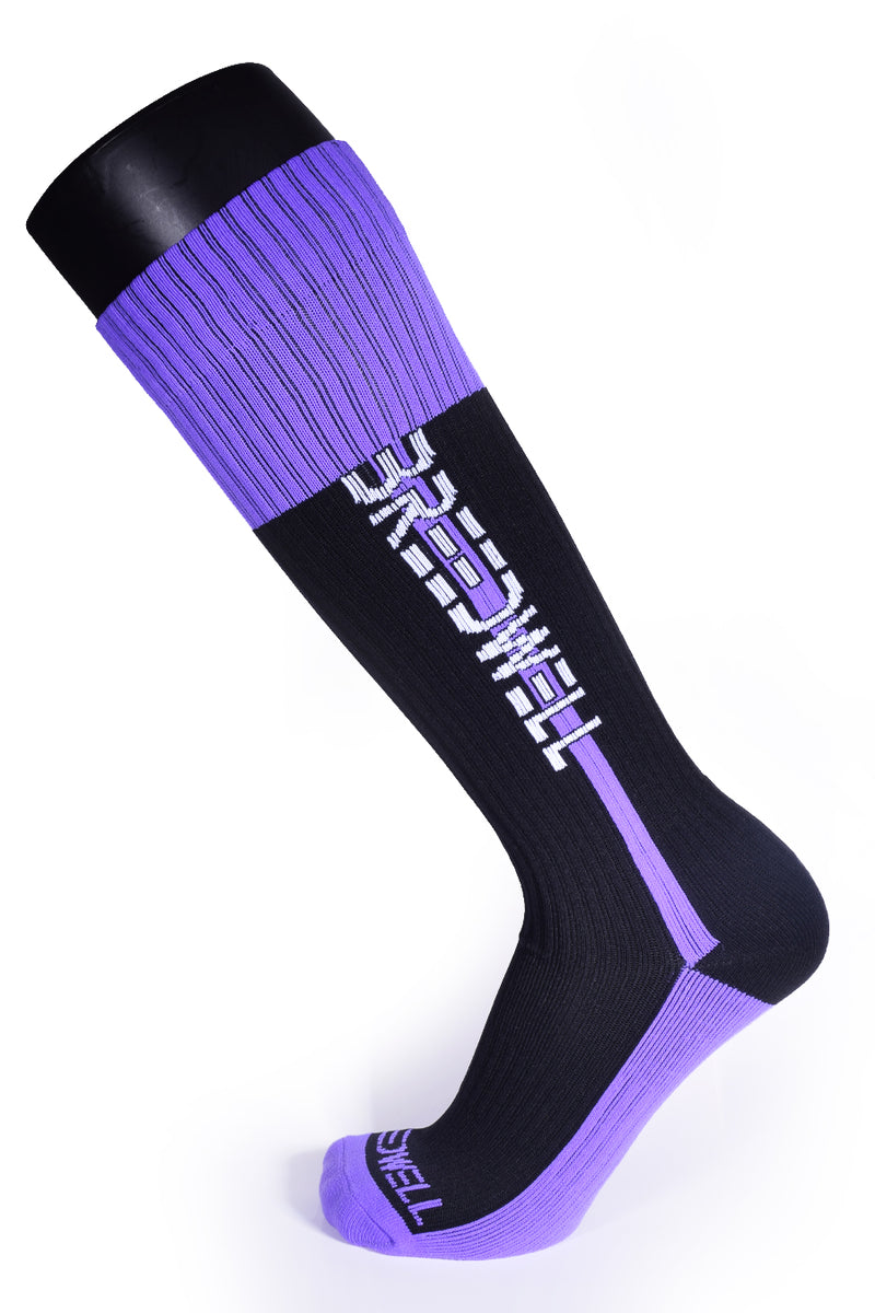NIGHTCRAWLER SOCKS - PURPLE