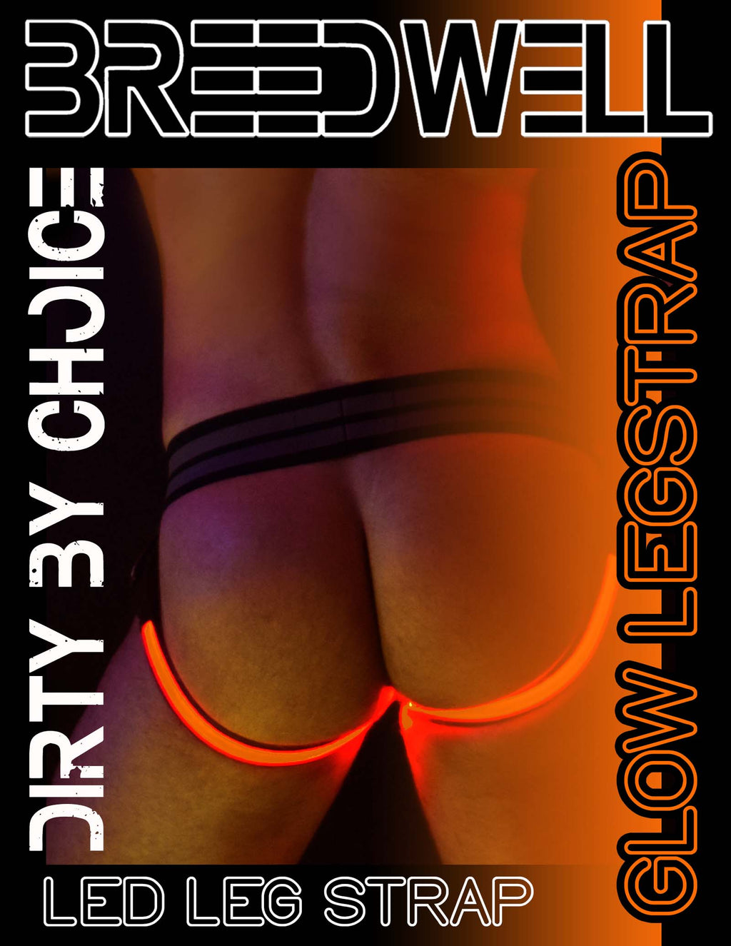 ORANGE GLOW LEGSTRAP