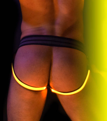 YELLOW GLOW LEGSTRAP