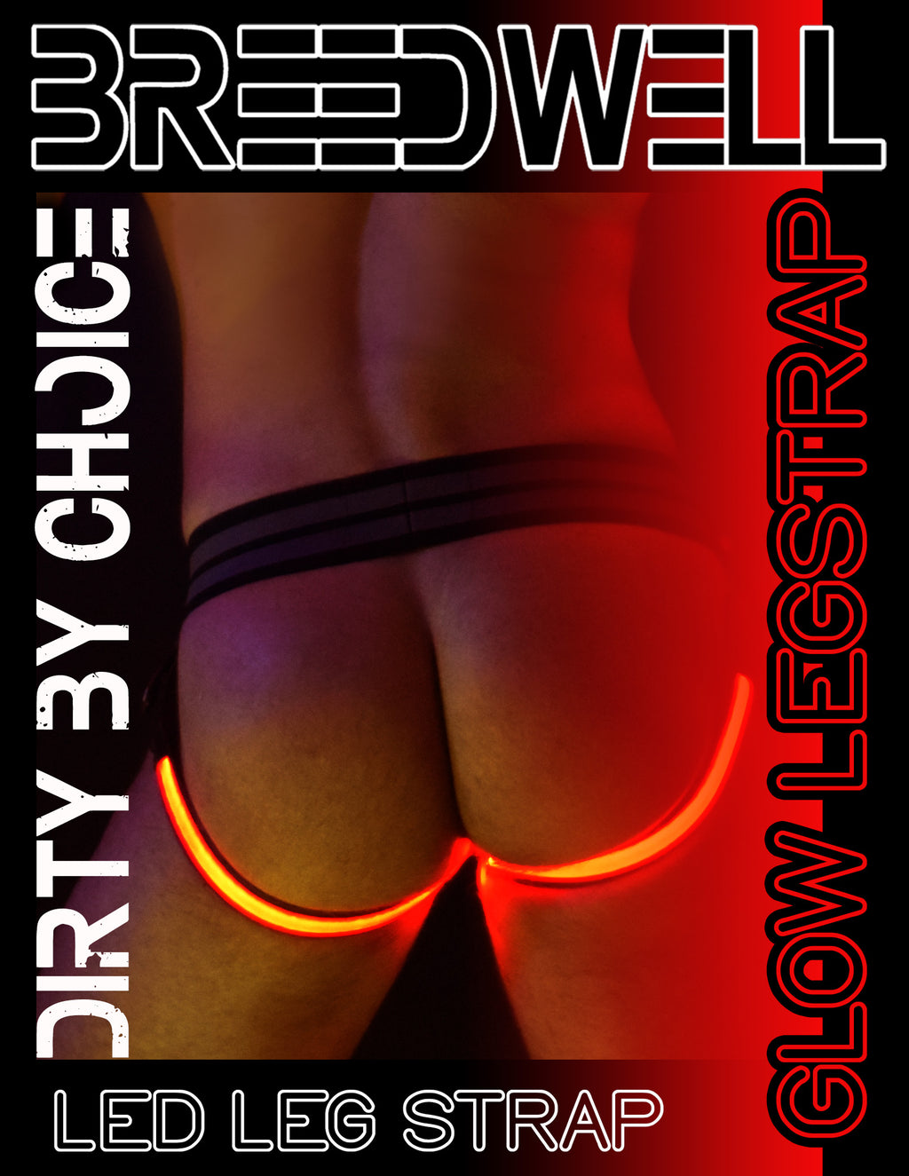 RED GLOW LEGSTRAP
