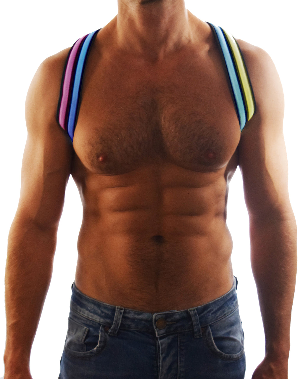 RAINBOW GLOW SHOULDER HARNESS