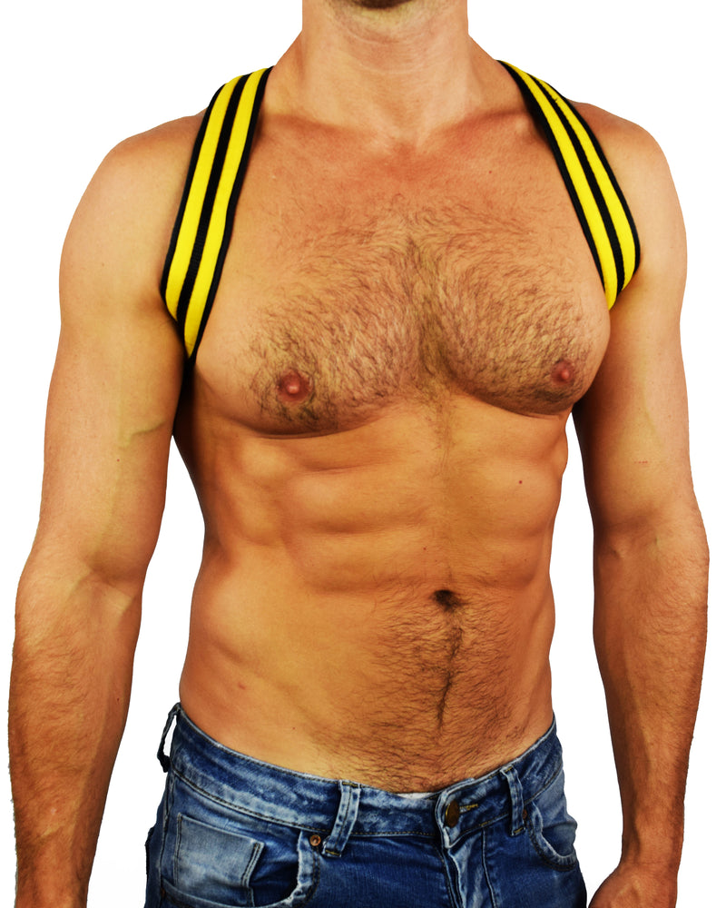 YELLOW GLOW SHOULDER HARNESS