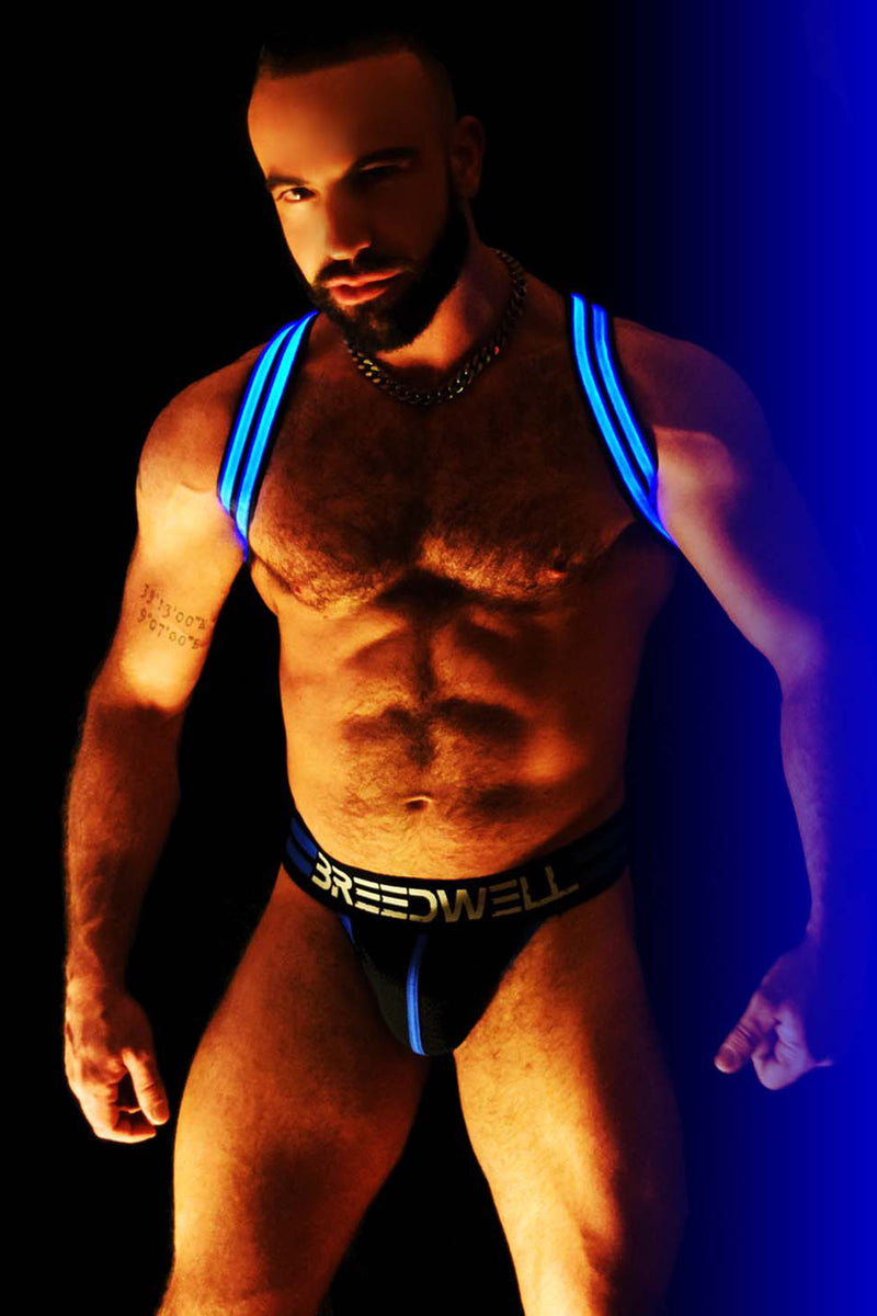 BLUE GLOW SHOULDER HARNESS