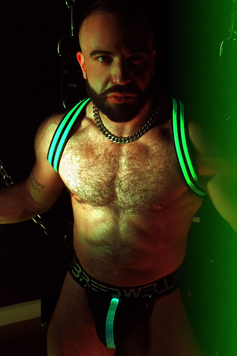 GREEN GLOW SHOULDER HARNESS