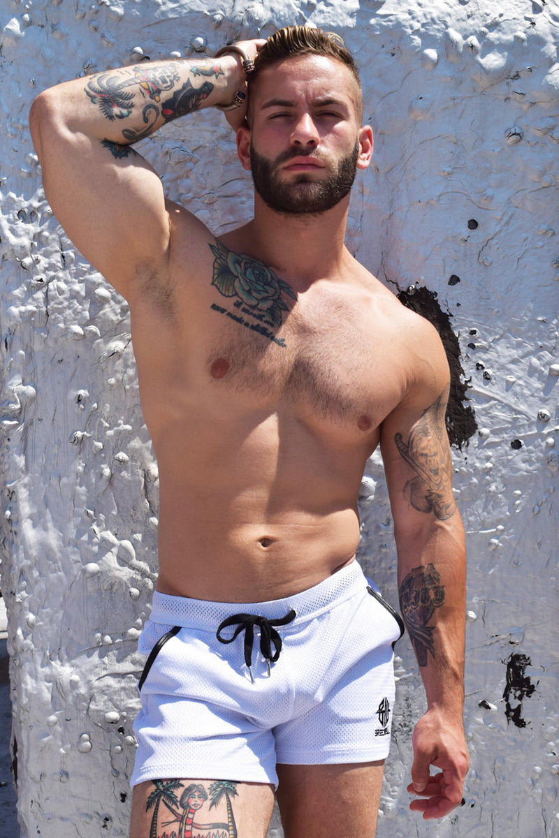 CRUISER SHORTS - WHITE