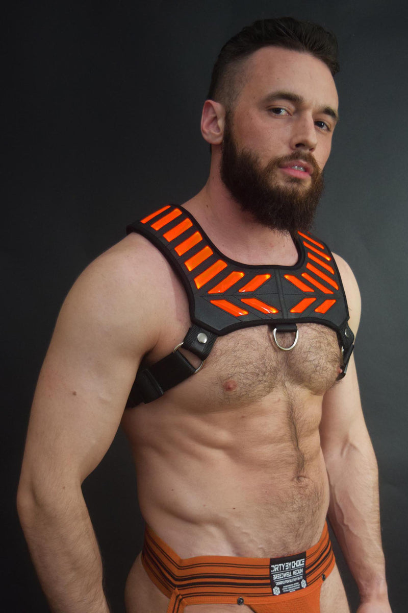 ORANGE WARRIOR HARNESS