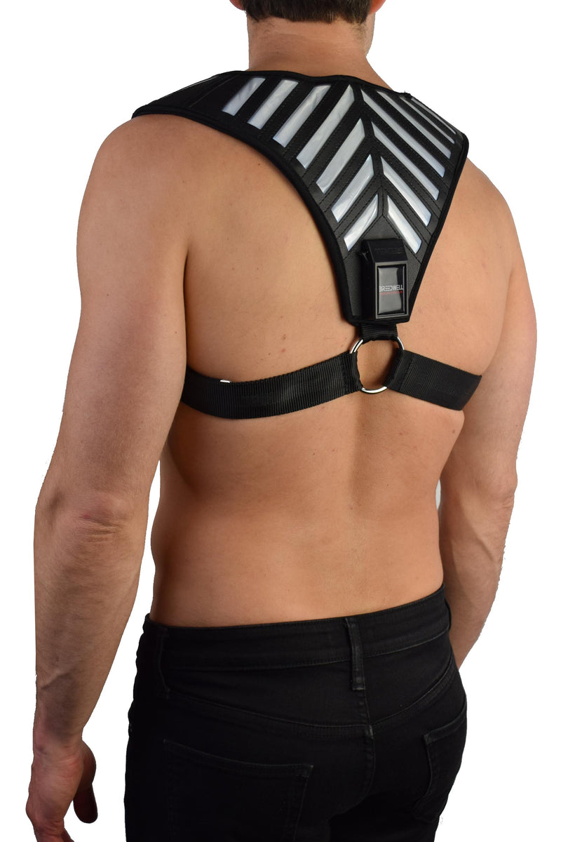 WHITE WARRIOR HARNESS