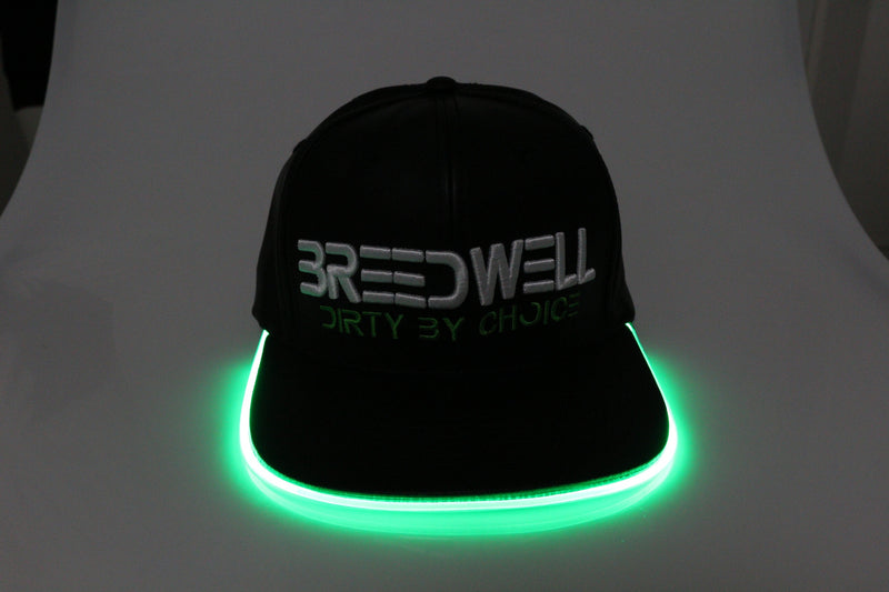 GREEN LEATHERHEAD GLOW HAT