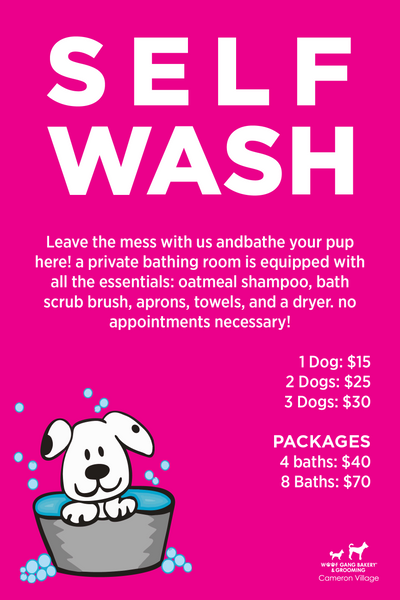 Raleigh self wash woof gang bakery inc solutioingenieria Image collections
