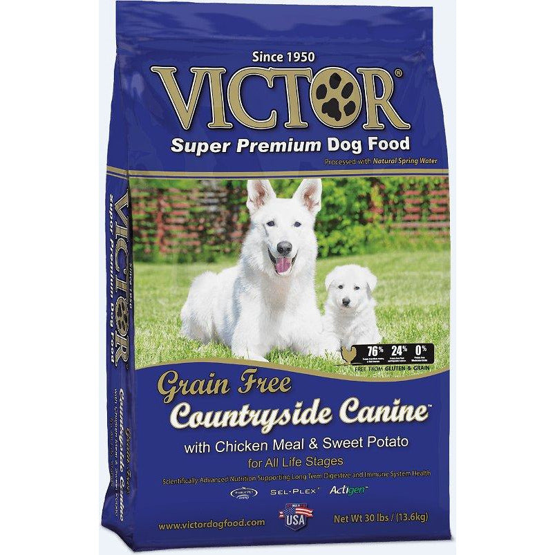 Victor Grain-Free Countryside Canine Chicken Meal & Sweet Potato Dry Dog Food