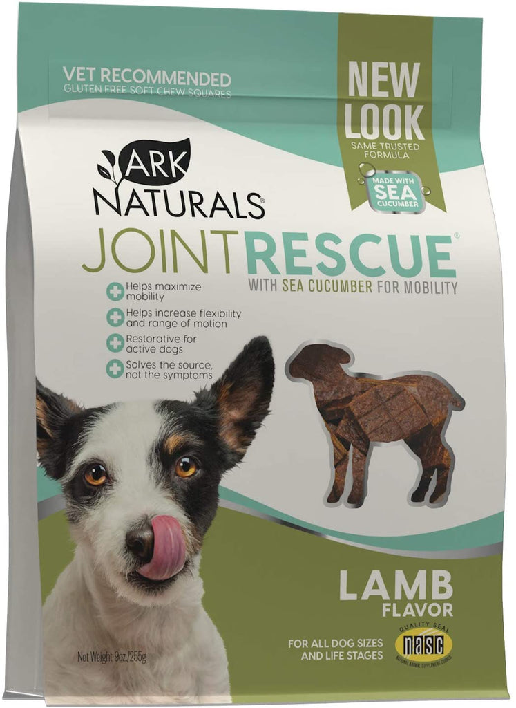 Ark Naturals Sea Mobility Joint Rescue Dog Treats - Lamb