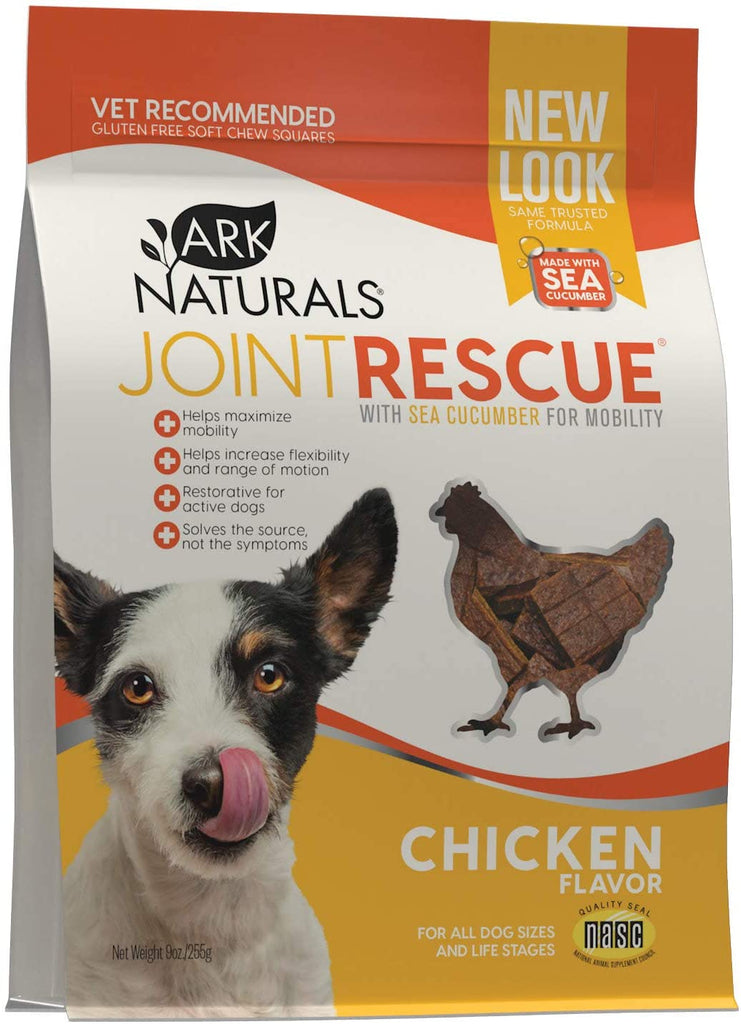 Ark Naturals Sea Mobility Joint Rescue Dog Treats - Chicken