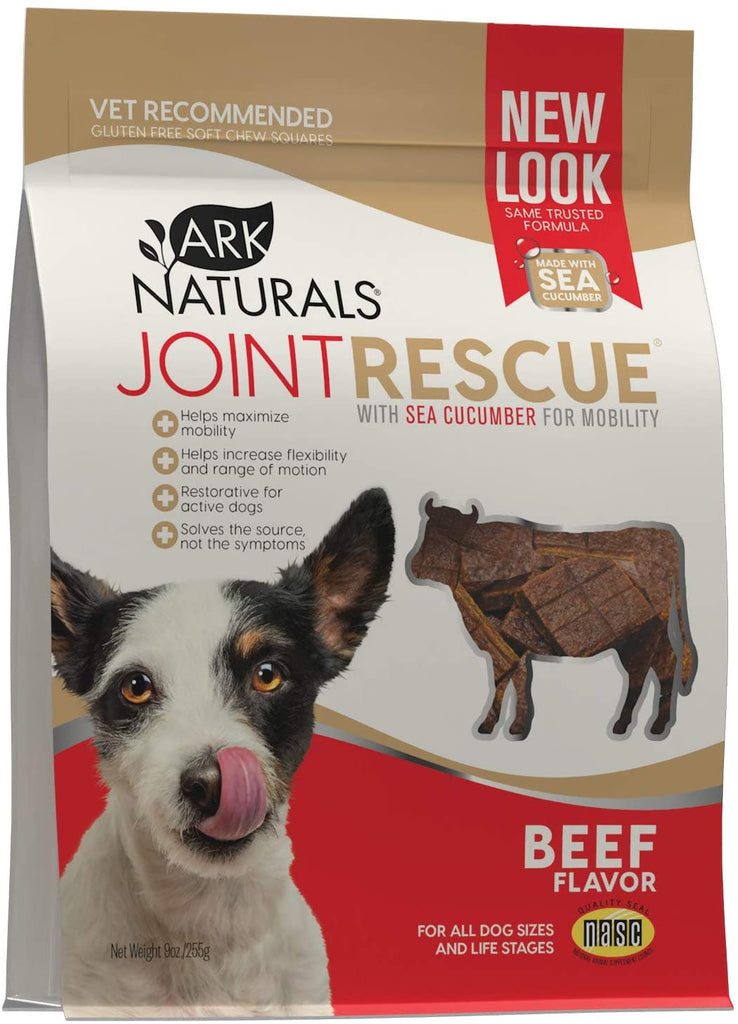 Ark Naturals Sea Mobility Joint Rescue Dog Treats - Beef