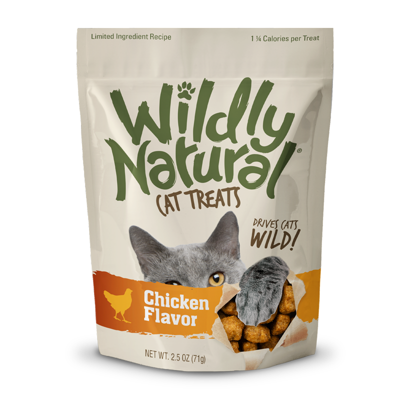 Fruitables Wildly Natural Cat Treats Chicken - 2.5 oz