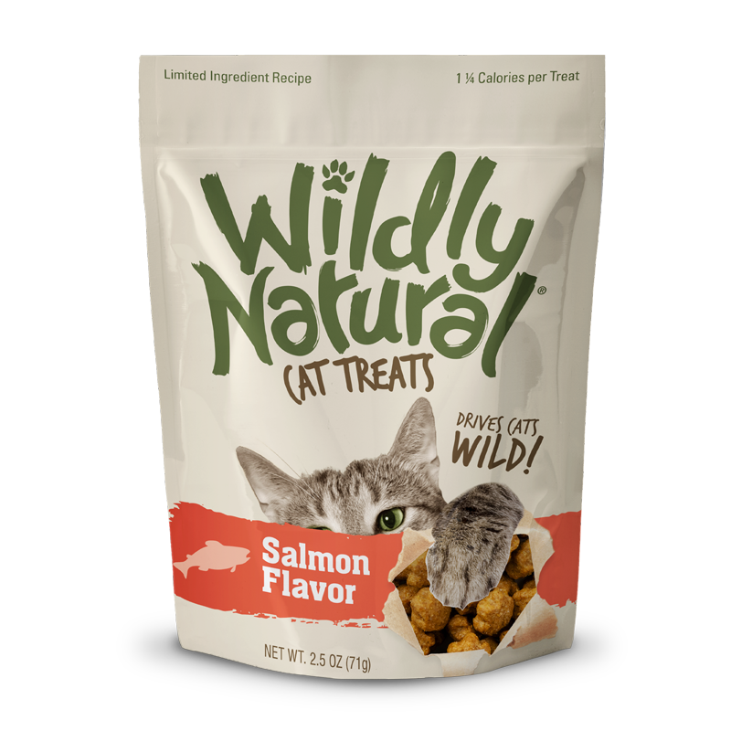 Fruitables Wildly Natural Cat Treats Salmon - 2.5 oz