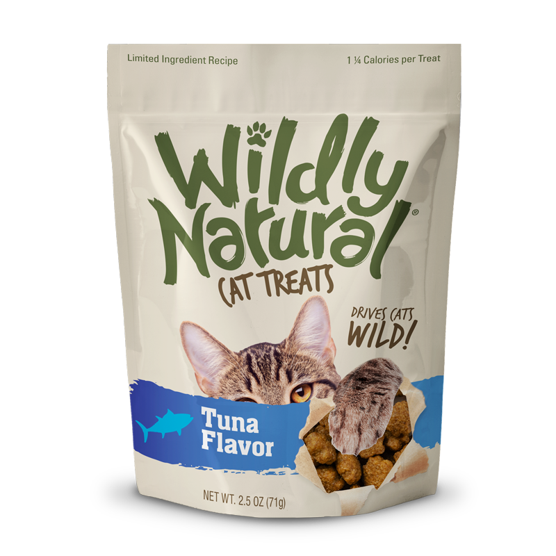 Fruitables Wildly Natural Cat Treats Tuna - 2.5 oz