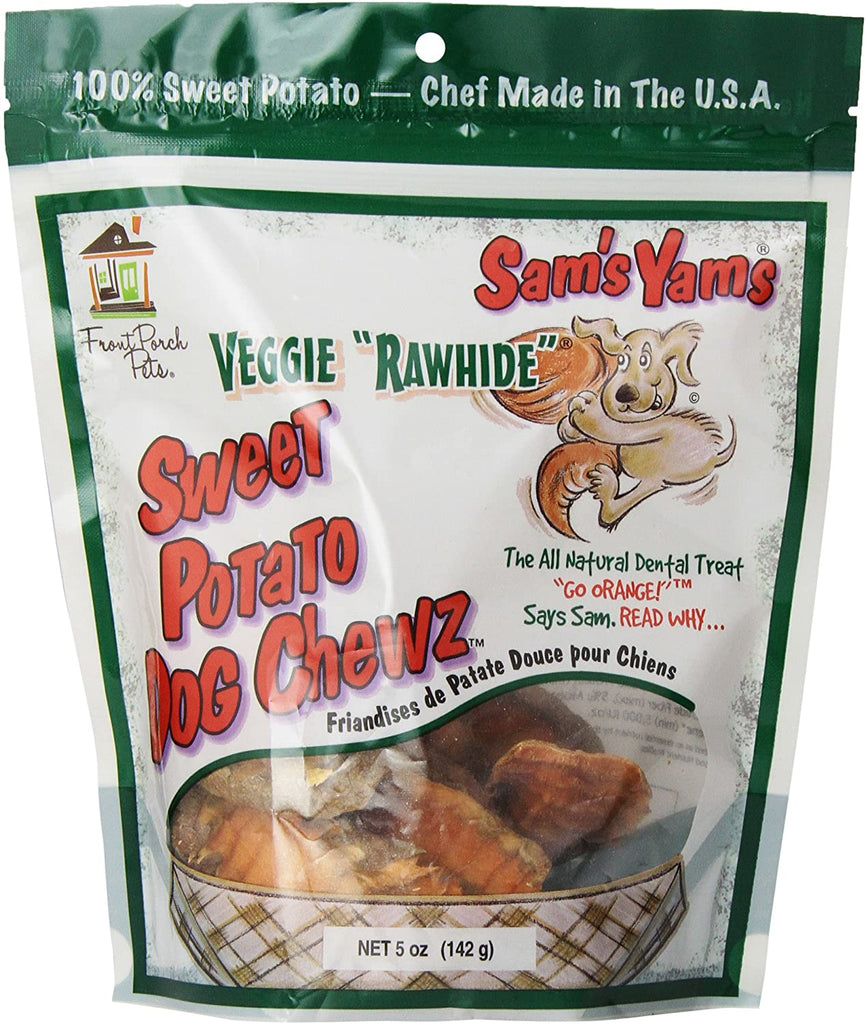 "Sam's Yams ""Raw Hide"" Chews - 5 oz & 14 oz"