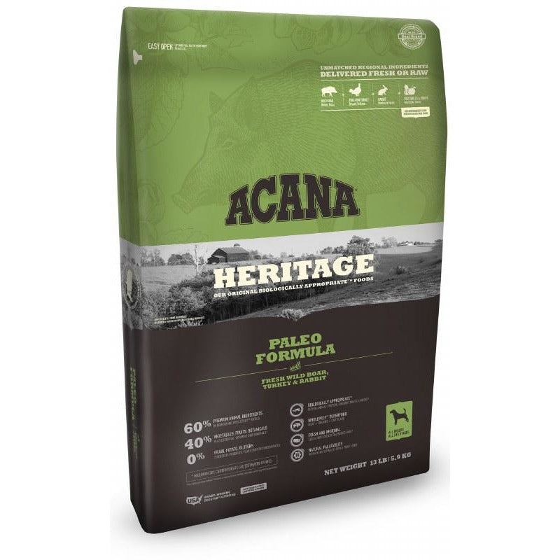 Acana Heritage - Paleo - Dry Dog Food