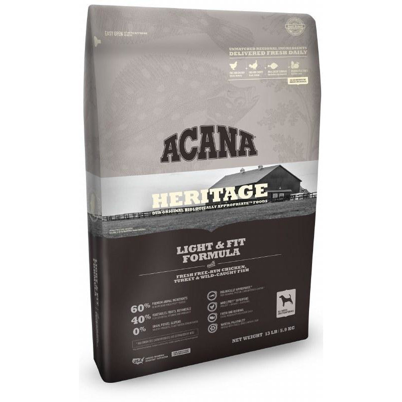 Acana Heritage - Light & Fit - Dry Dog Food
