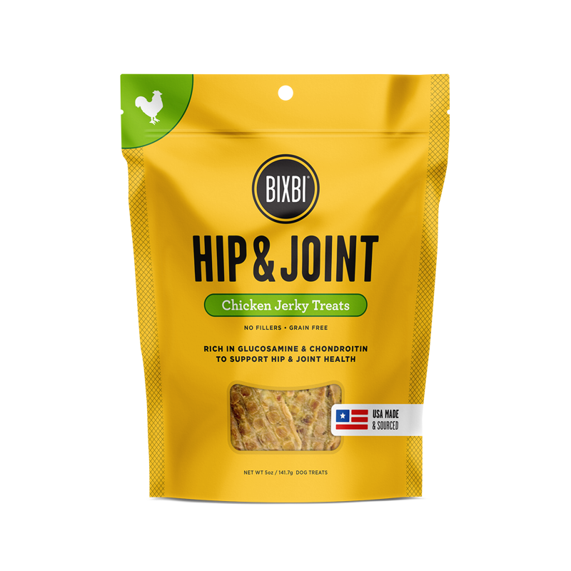 Bixbi Hip & Joint Jerky Treats 5 oz. - Chicken