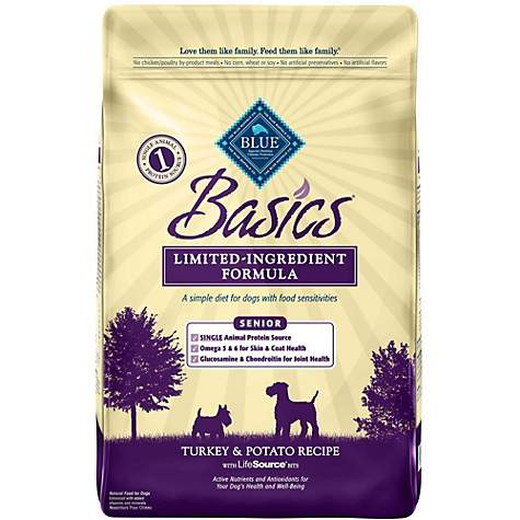 Blue Buffalo Blue Basics Senior Turkey & Potato Recipe - Dry Dog Food