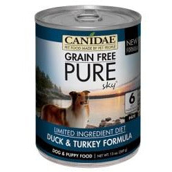 Canidae Grain Free - Pure Sky Duck & Turkey Formula - 13 oz., Case of 12