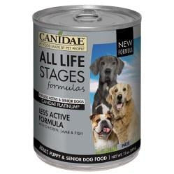Canidae Life Stages - Platinum Formula With Chicken, Lamb, & Fish - Canned Dog Food - 13 oz., Case of 12