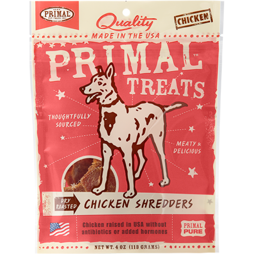 Primal Dry Roasted Chicken Shredders - 4 oz.