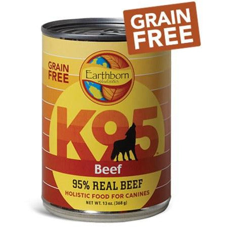 Earthborn K95 - Beef - Canned Dog Food - 13 Oz., Case of 12