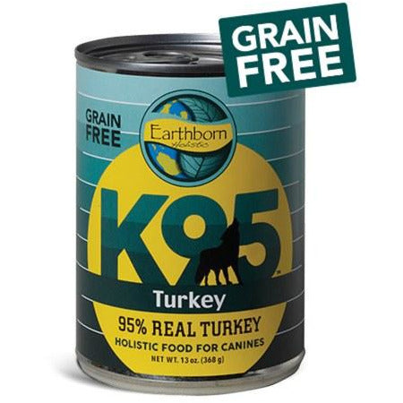 Earthborn K95 - Turkey - Canned Dog Food - 13 Oz., Case of 12