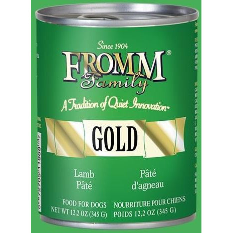 Fromm Gold - Lamb Pate - Canned Dog Food - 12.2 Oz., Case of 12