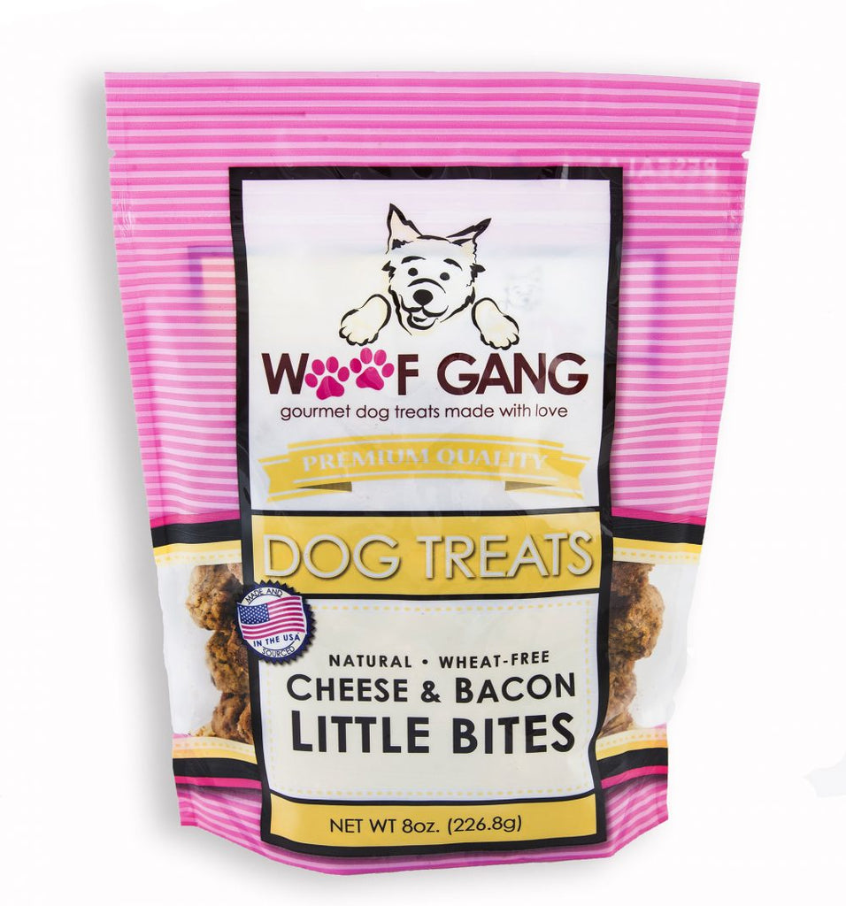 Woof Gang Cheese & Bacon Little Bites
