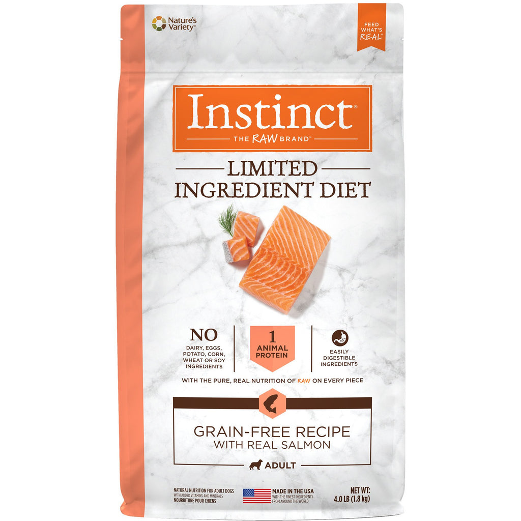 Nature's Variety Instinct® Limited Ingredient Diet Grain-Free Recipe with Real Salmon