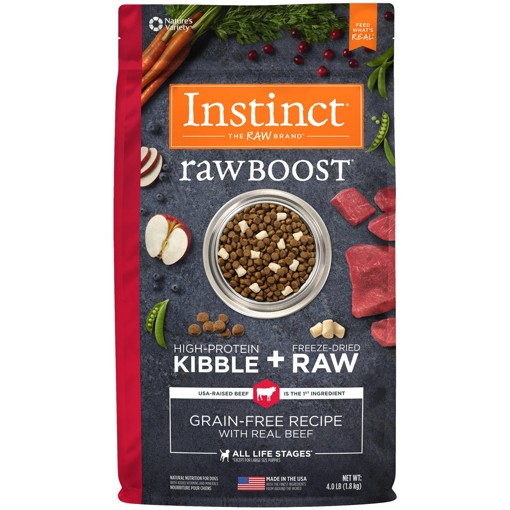 Nature's Variety Instinct® Raw Boost® Grain-Free Recipe with Real Beef