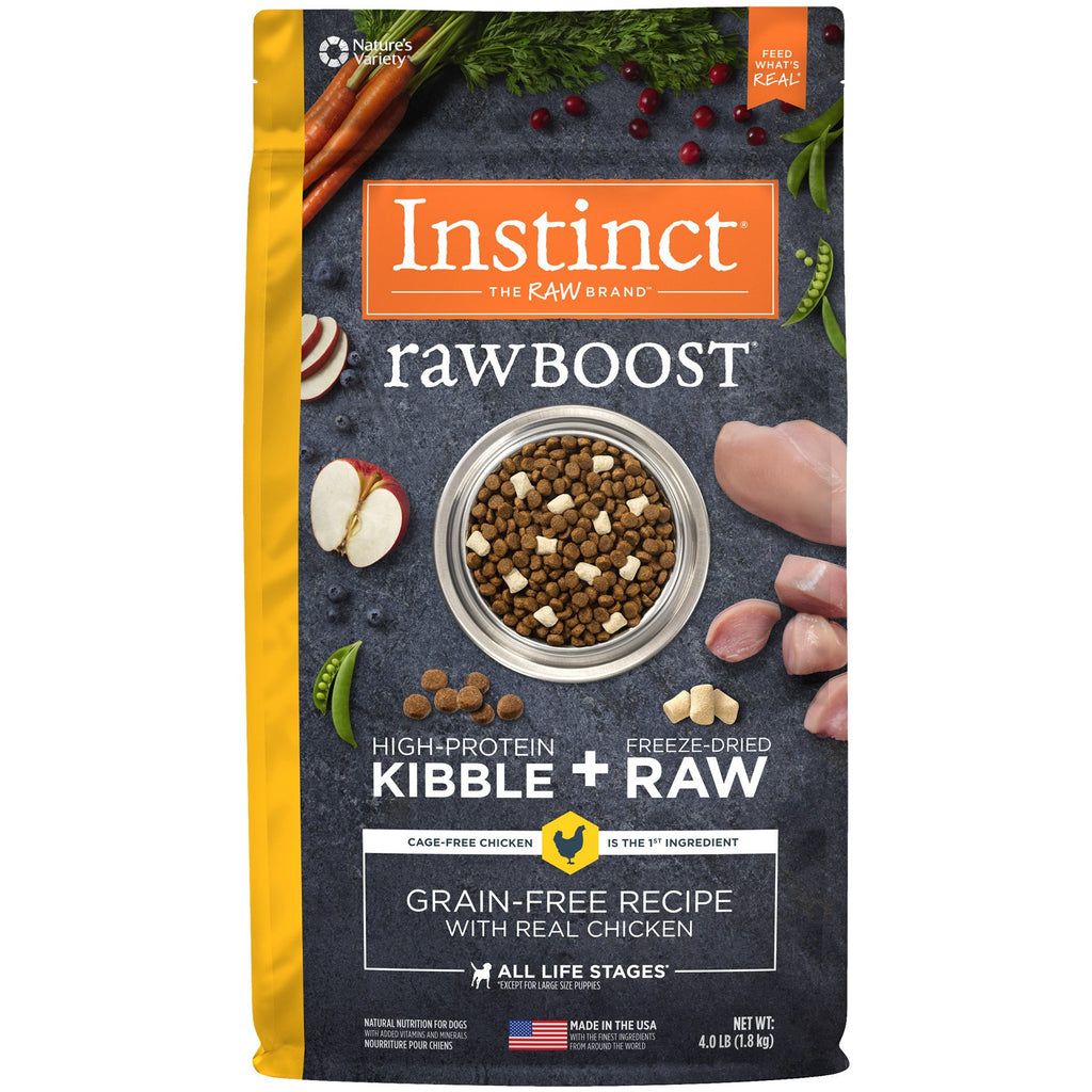Nature's Variety Instinct® Raw Boost® Grain-Free Recipe with Real Chicken
