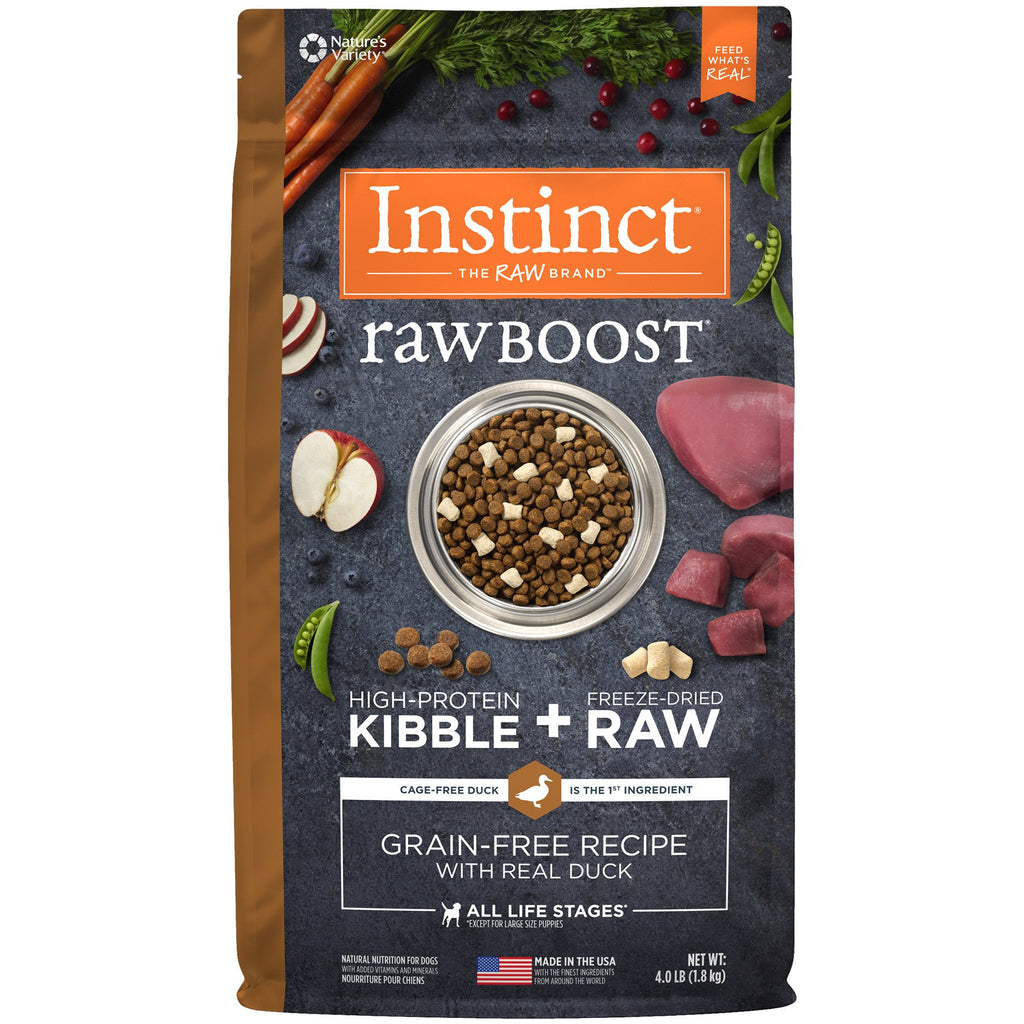 Nature's Variety Instinct® Raw Boost® Grain-Free Recipe with Real Duck