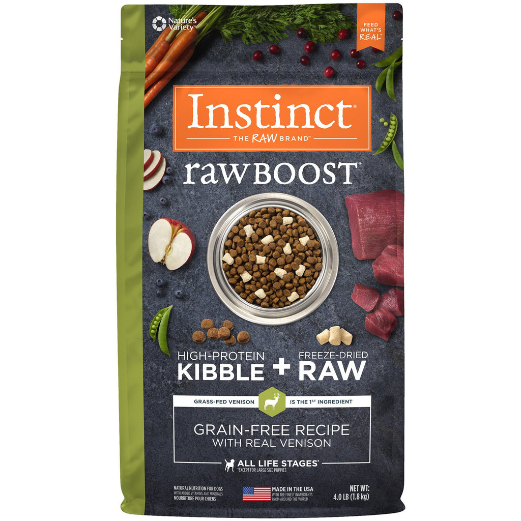 Nature's Variety Instinct® Raw Boost® Grain-Free Recipe with Real Venison