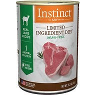 Instinct - Limited Ingredient Lamb - Canned Dog Food - 13.2 oz., Case of 12