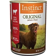 Instinct - Original Real Beef Recipe - Canned Dog Food - 13.2 oz., Case of 12