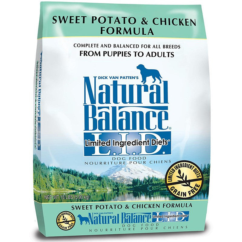 Natural Balance Chicken and Sweet Potato