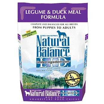 Natural Balance Legume and Duck