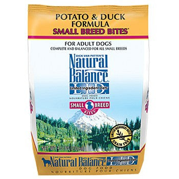 Natural Balance Potato and Duck Small Bites