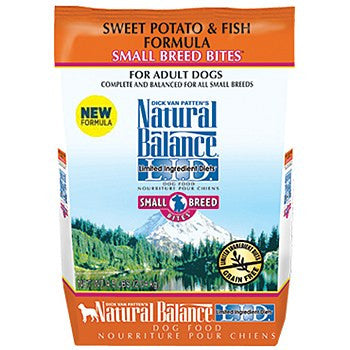 Natural Balance Sweet Potato and Fish Small Bites