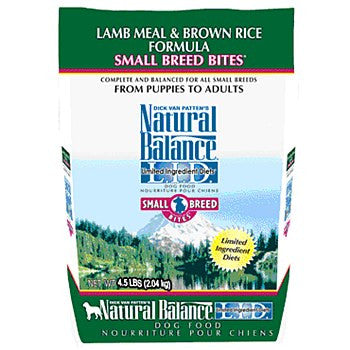 Natural Balance Lamb and Brown Rice Small Bites